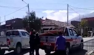 Huancayo: sereno y joven protagonizan pelea en plena vía pública