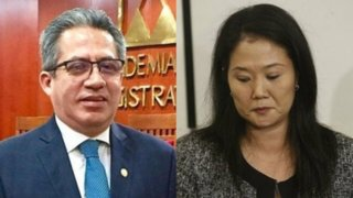 Juez Aldo Figueroa se inhibe de evaluar casación de Keiko Fujimori