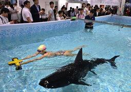 China: Feria tecnológica CES Asia sorprendió a visitantes