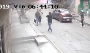 Comas: 'raqueteros' asaltan en segundos a pareja de esposos