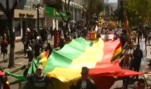 Bolivia: marchan en La Paz contra candidatura de Evo Morales
