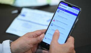 Sunat: más de 6 millones de comprobantes de pago electrónicos se emiten a diario