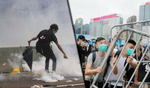 Hong Kong: protestas contra extradición a China desatan violencia en las calles