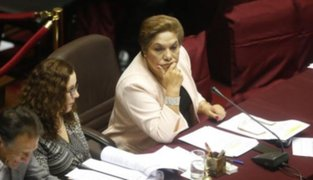 Luz Salgado niega que Fuerza Popular haya decidido ceder la presidencia del Congreso