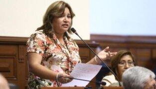 Janet Sánchez descartó postular a vicepresidencia de la Mesa Directiva