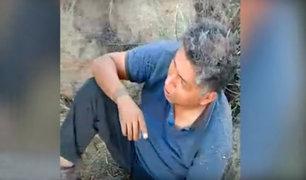 Hombre perdido en caminata: sobreviví comiendo caracoles y mascando hojas de coca