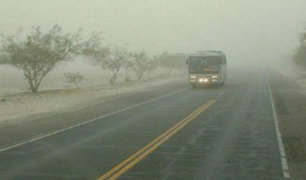 Despiden a conductor que invadió carril contrario en zona de neblina