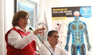 Guillain-Barré | Ministra de Salud: personas con fuertes resfríos o diarreas deben evitar asistir al colegio o trabajo
