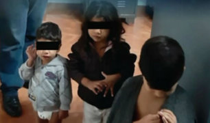 Santa Anita: encuentran a tres hermanitos perdidos en la calle