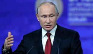 Rusia: renuncian todos los ministros tras decisión de Putin de cambiar la Constitución