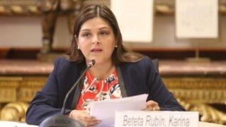 Congresista Beteta pide que Comisión de la JNJ revise inmunidad parlamentaria