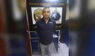 Capturan a narcotraficante peruano que era buscado en Italia desde hace 15 años