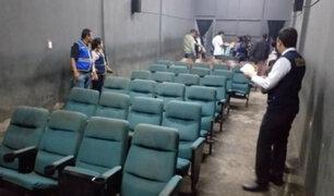 Chiclayo: clausuran cine porno donde se ejercía la prostitución