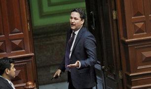 Daniel Salaverry anuncia fin de alianza con Restauración Nacional