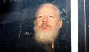 Reino Unido firma orden de extradición de Julian Assange a EEUU