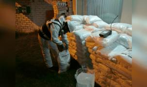 Vraem: incautan 3 toneladas de insumos que estarían destinados a la elaboración de droga