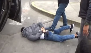Capturan a delincuentes que intentaron asaltar supermercado