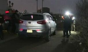 Chorrillos: policía encuentra cadáver en camioneta tras persecución