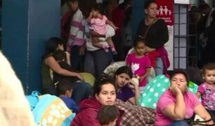 Tumbes: familias venezolanas desesperadas a poco de vencerse plazo de migraciones