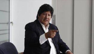 Edwin Oviedo: rechazan casación y seguirá en prisión preventiva