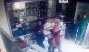 Jaén: cámaras registran asaltos a boticas