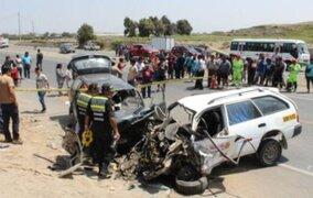 OMS: más de 4 mil peruanos mueren al año en accidentes de tránsito