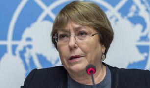 """Informe de Bachelet denuncia """"graves violaciones a los Derechos Humanos"""" en Venezuela"""
