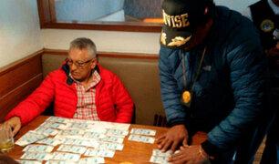Exalcalde de Surquillo es intervenido en flagrancia delictiva por la Policía