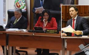 PJ notificó a Comisión de Ética admisión a trámite de acción de amparo de Salaverry