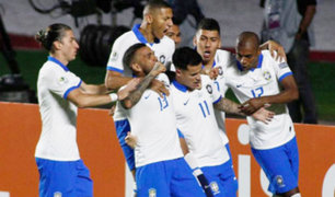 Brasil gana 3-0 a Bolivia en partido inaugural de Copa América