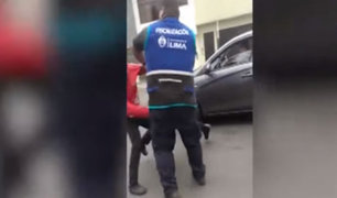 Lince: fiscalizadores de MML vuelven a atacar a vendedores ambulantes
