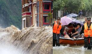 China: más de 9 mil casas destruidas por inundaciones