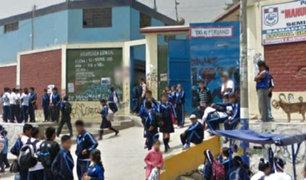 Ate: investigan muerte de niño al interior de un colegio