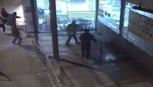 Capturan sujetos que intentaron asaltar supermercado de Pueblo Libre