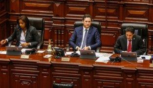 Congreso: oficializan ampliación de legislatura hasta el 25 de julio