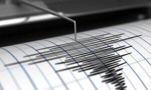 Sismo de magnitud 3.4 se registró esta tarde en Huancavelica
