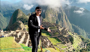 Chayanne cumple su sueño de visitar Machu Picchu