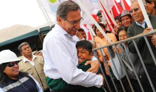 Martín Vizcarra y su saludo a los hombres peruanos por el Día del Padre