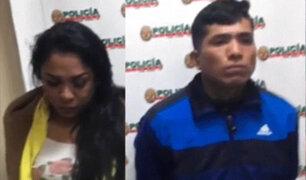 Detienen a dos miembros de banda criminal dedicada a asaltar a estudiantes en SMP