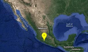 México: sismo de magnitud 5.1 remeció esta tarde Michoacán
