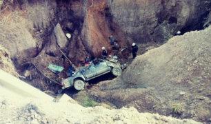 La Libertad: siete muertos y tres heridos tras caída de camioneta a barranco