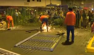 Cierran avenida Aviación por 72 horas tras megaoperativo contra comercio informal