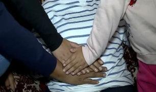 San Miguel: vehículo choca a mujer embarazada y fuga
