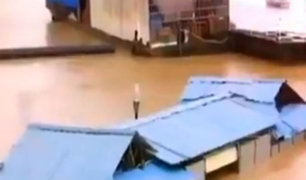 Inundaciones al sur de China dejan casi 500 mil damnificados