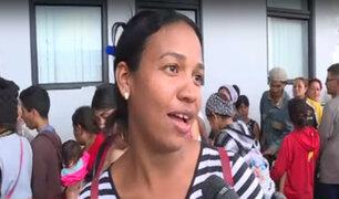 Tumbes: llegada de primera venezolana tras entrar en rigor exigencia de visado