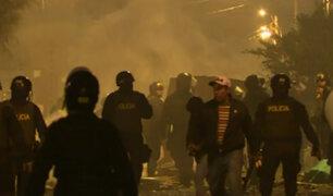 VES: nuevos enfrentamientos entre vecinos con la policía por posesión de terreno