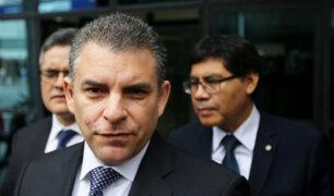 Rafael Vela a Gálvez: no somos insubordinados, responderemos con la ley