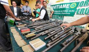 Revólveres y pistolas son vendidos desde S/.300 en mercado negro