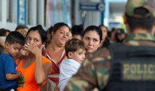 Cinco mil venezolanos huyen de su país cada día, según informe de ONU