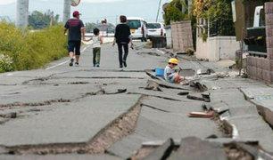 Japón: emiten alerta de tsunami tras terremoto de magnitud 6,8